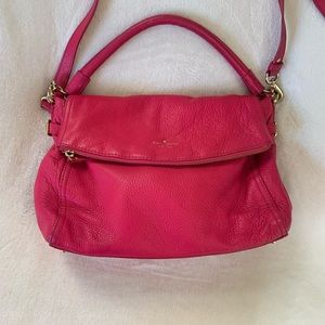 Kate Spade Hot Pink Leather Purse